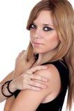 Teen rebellious girl Stock Images