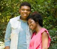 Teen romance Stock Photography