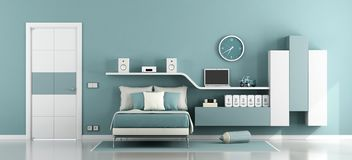 Teen room for boy Stock Photo