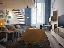 Teen room contemporary style Stock Photo