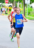 Teen Runner Royalty Free Stock Photography
