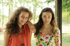 Teen's portrait Royalty Free Stock Photography