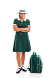 Teen school girl Royalty Free Stock Photo