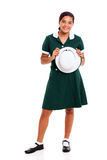 Teen school girl Royalty Free Stock Images