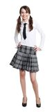 Teen schoolgirl Royalty Free Stock Image