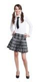 Teen schoolgirl Royalty Free Stock Image