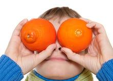 Teen Shows oranges Stock Photos