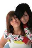 Teen sisters Royalty Free Stock Image