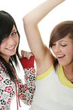Teen sisters Royalty Free Stock Images