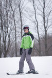 Teen Skier Royalty Free Stock Photo