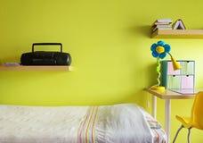 teen sovrum Fotografering för Bildbyråer