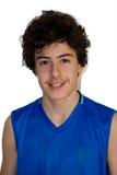 Teen sportsman Royalty Free Stock Photo