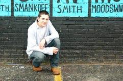Teen on Street stock photography