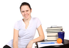 Teen student Stock Images