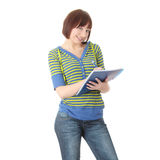 Teen student girl Stock Images
