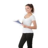 Teen student girl Stock Photos