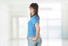 Teen student girl Royalty Free Stock Photography