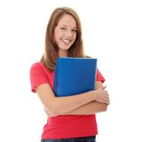 Teen student girl Royalty Free Stock Image