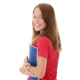 Teen student girl Royalty Free Stock Photos