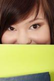 Teen student girl Stock Photography