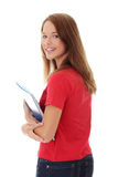 Teen student girl Stock Photography