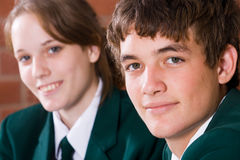 Teen students Royalty Free Stock Photo