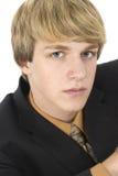 Teen in Suit Stock Photos