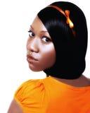 teen svart pageant för skönhet Royaltyfria Bilder
