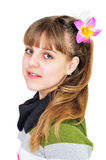 Teen sweet girl Royalty Free Stock Image