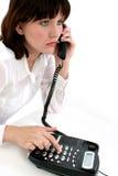 teen telefon Arkivfoton