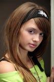 teen trendig flicka Arkivfoto