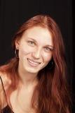 teen vibrerande för redhead Royaltyfria Foton