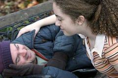 Teen Volunteer Royalty Free Stock Images