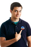 Teen voter Stock Photo
