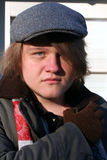 Teen in Winter Portrait Royalty Free Stock Image