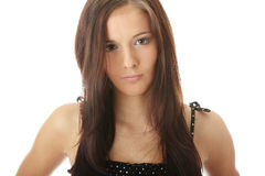 Teen woman portrait Royalty Free Stock Photo