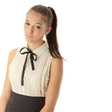 Teen woman portrait Stock Photos