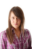 Teen woman portrait Royalty Free Stock Image