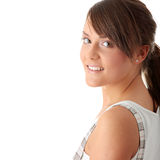 Teen woman portrait Royalty Free Stock Images