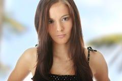Teen woman portrait Royalty Free Stock Image
