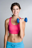 Teen Working Out Royalty Free Stock Image