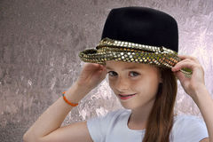 Teenage actress Royalty Free Stock Photos