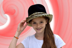 Teenage actress Royalty Free Stock Images