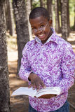 Teenage african boy Stock Photos