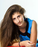 Teenage armenian girl portrait Royalty Free Stock Images