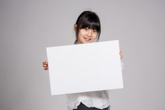 Teenage Asian Girl Child Studio Portrait Shoot - Isolated. Shot royalty free stock images