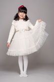 Teenage Asian Girl Child Studio Portrait Shoot - Isolated Royalty Free Stock Image