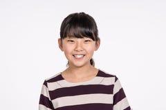 Teenage Asian Girl Child Studio Portrait Shoot - Isolated Royalty Free Stock Photography