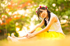 Teenage asian girl Stock Images