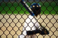 Teenage Baseball Player Royalty Free Stock Images
